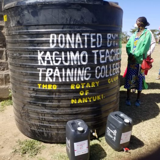 KAGUMO TEACHERS TRAINING COLLEGE CSR IN LAIKIPIA NORTH